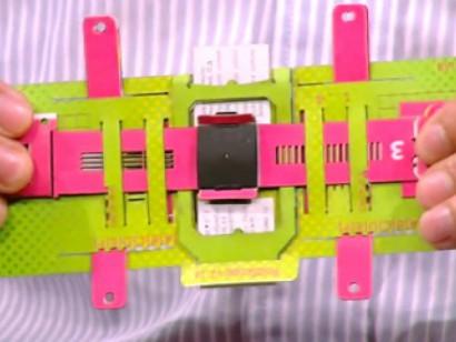 50 Centlik Origami Gibi Mikroskop : Foldscope